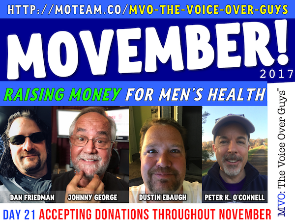 Movember Poster Day 21 Friedman, George, Ebaugh & O'Connell