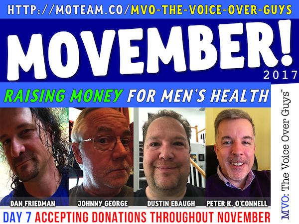MVO Movember 2017 Day 7 Friedman, George, Ebaugh, O'Connell