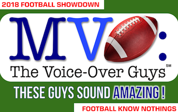 MVO: The Voice-Over Guys NFL Showdown 2018 week 10