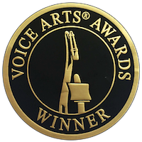 Andy Barnett won his THIRD Voice Arts Award