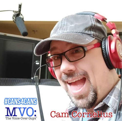 Cam Cornelius MVO The Voiceover Guys #Cans4Cans 2018