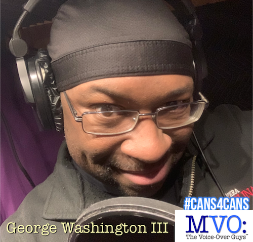 George Washington III MVO The Voiceover Guys #Cans4Cans 2018