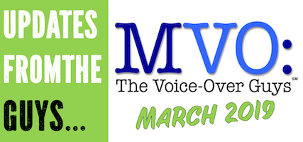 MVO: The Voiceover Guys Spring 2019 Update