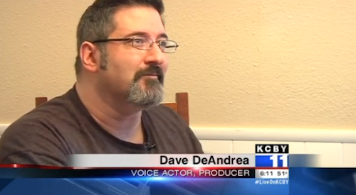 MVO: The Voice-Over Guy's Dave DeAndrea Lights Up The Little Screen