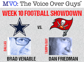 MVO: The Voice-Over Guys NFL Showdown Week 10