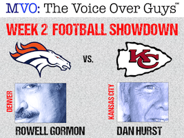 MVO: The Voice-Over Guys NFL Showdown Week 2
