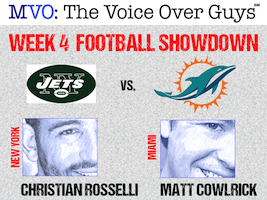 MVO: The Voice-Over Guys NFL Showdown Week 4