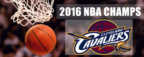 Congratulations to The Cleveland Cavaliers