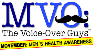 MEDIA RELEASE – Voice-Over Guys Stop Shaving…For A Good Cause