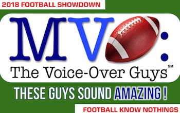 MVO: The Voice-Over Guys NFL Showdown 2018 week 15