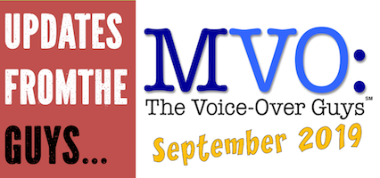 MVO: The Voice-Over Guys Fall 2019 Update