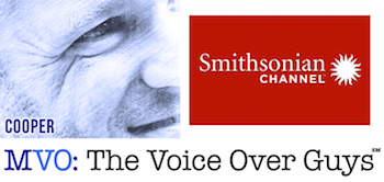 Male Voiceover Talent Mike Cooper Smithsonian Channel