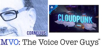 Male Voiceover Talent Cam Cornelius Cloudpunk Video Game