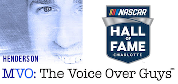 Male Voiceover Talent Steve Henderson NASCAR