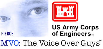 Male Voiceover Talent Chadd Pierce US Army Corps of Engineers