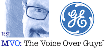 Male Voiceover Talent Tom Test General Electric