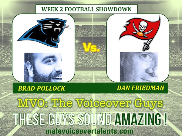 MVO The Voiceover Guys NFL 20 WEEK 2