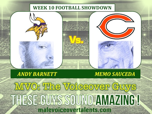MVO The Voiceover Guys NFL 20 WEEK 10