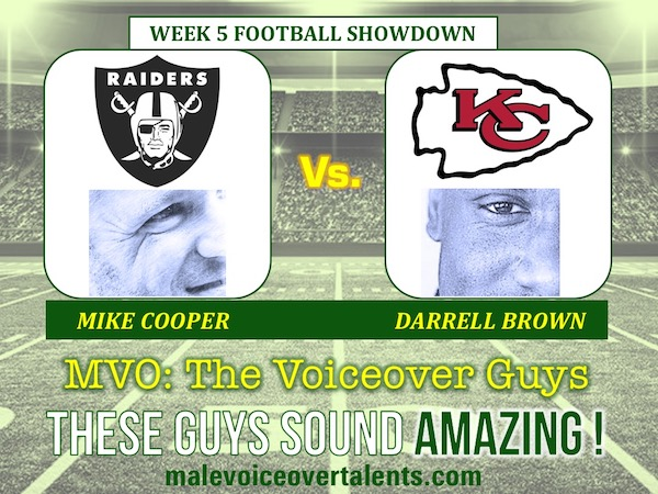 MVO The Voiceover Guys NFL 20 WEEK 5