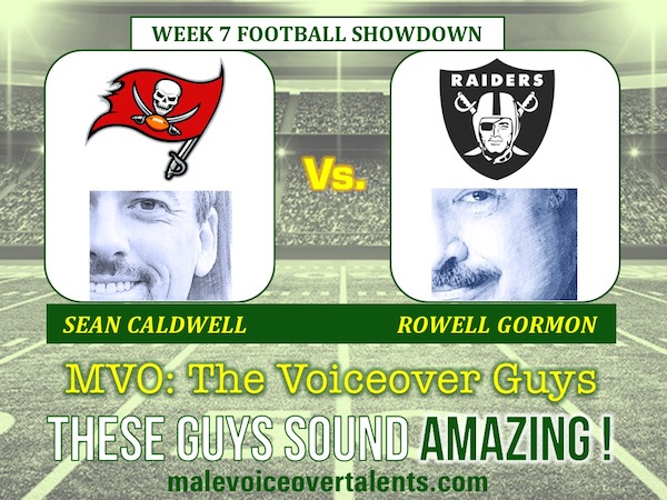 MVO The Voiceover Guys NFL 20 WEEK 7