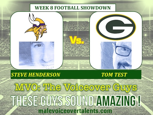 MVO The Voiceover Guys NFL 20 WEEK 8