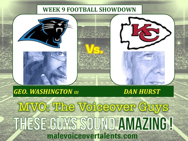 MVO The Voiceover Guys NFL 20 WEEK 9
