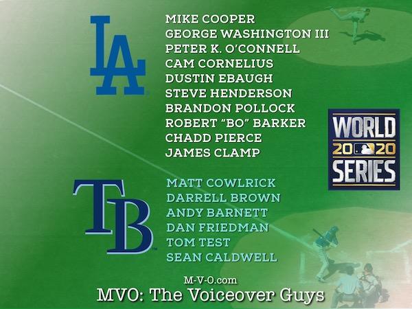 MVO The Voiceover Guys World Series 2020