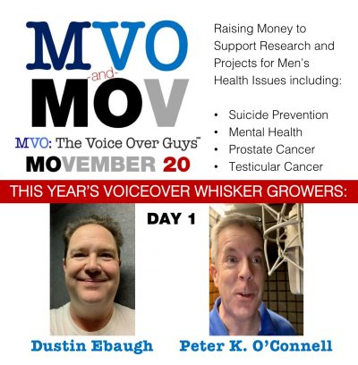 Movember 2020 Day 1 MVO: The Voiceover Guys