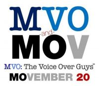 MVO: The Voiceover Guys Movember 2020 Week 1