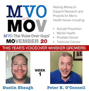 Movember 2020 Week 1 MVO: The Voiceover Guys