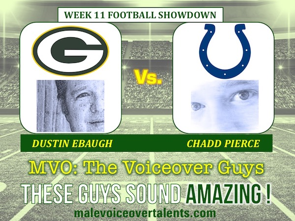 MVO The Voiceover Guys NFL 20 WEEK 11