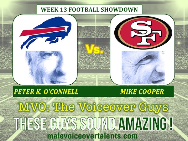 MVO The Voiceover Guys NFL 20 WEEK 13