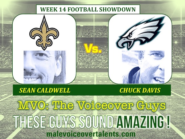 MVO The Voiceover Guys NFL 20 WEEK 14