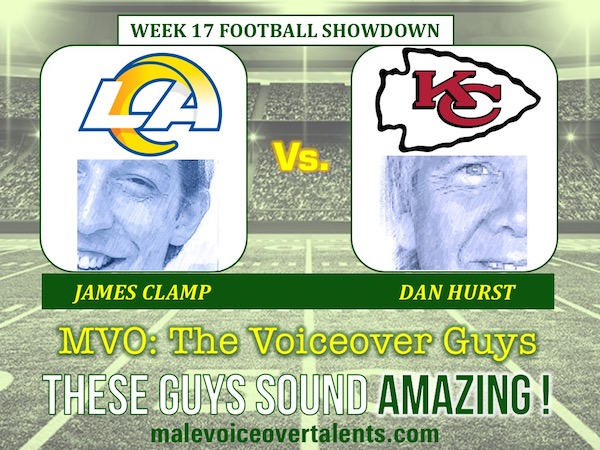 MVO The Voiceover Guys NFL 20 WEEK 17